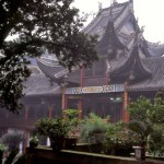 Longevity Tempel am Baoding Shan – China