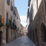 Exploring the old town of Banyoles