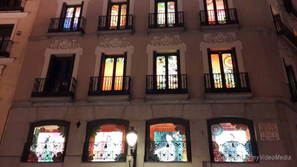 Abend in Madrid