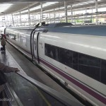 With High Speed Train from Girona to Madrid – Spain