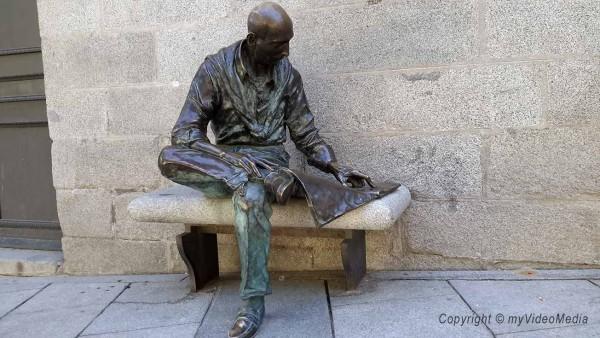 El lector - Barrio de La Latina