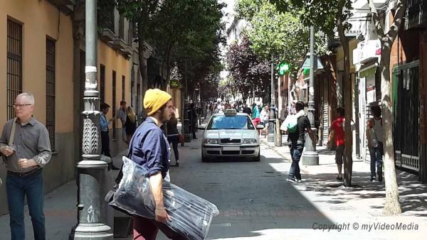 Calle de las Huertas