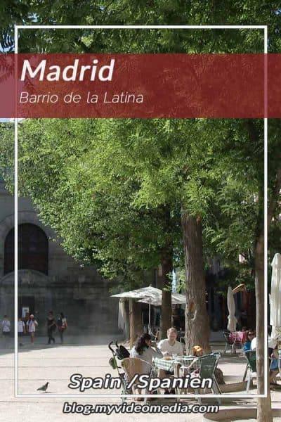 Im Barrio de la Latina in Madrid