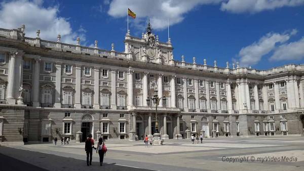 Königsschloss Madrid