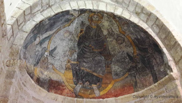 Romanische Fresken