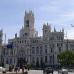 Calle Gran Via and Plaza de Cibeles – Madrid