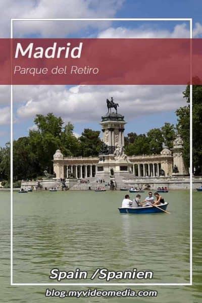 A stroll through Parque del Retiro in Madrid
