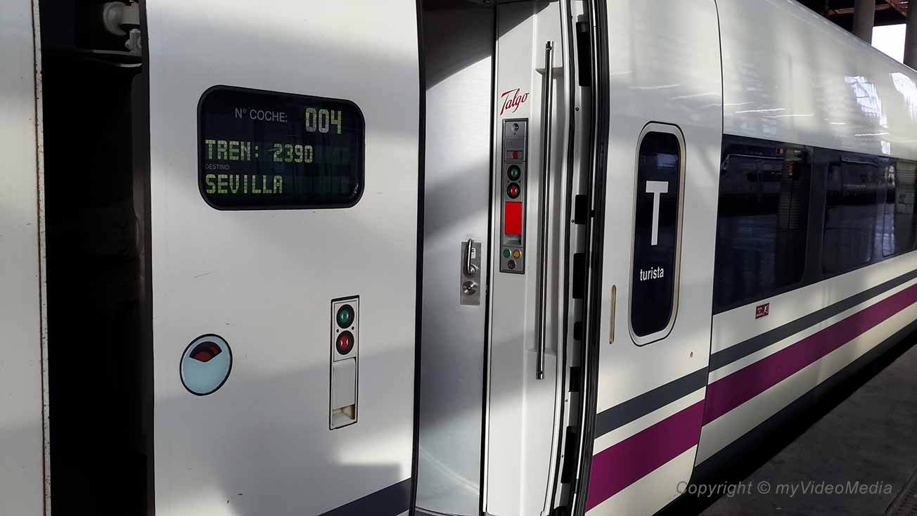AVE - Renfe high speed train
