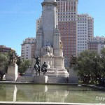 Plaza de España and Templo de Debod – Madrid