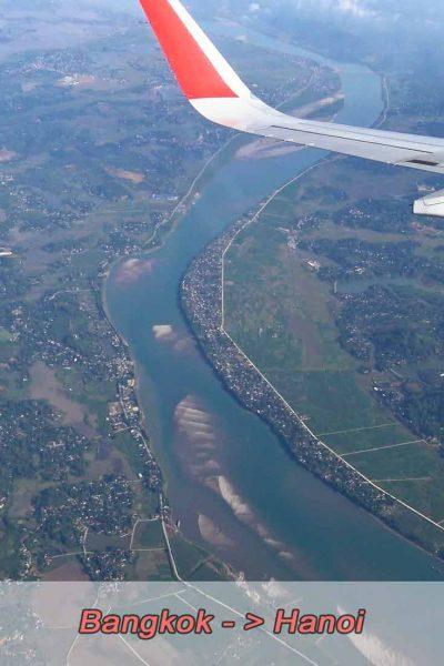 Flug Bangkok nach Hanoi