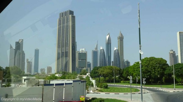 Dubai city tour by bus