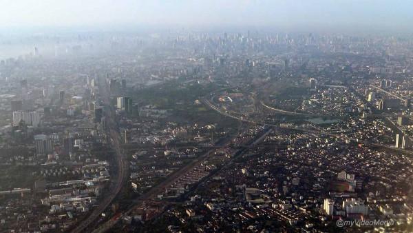 Flug von Bangkok nach Hanoi