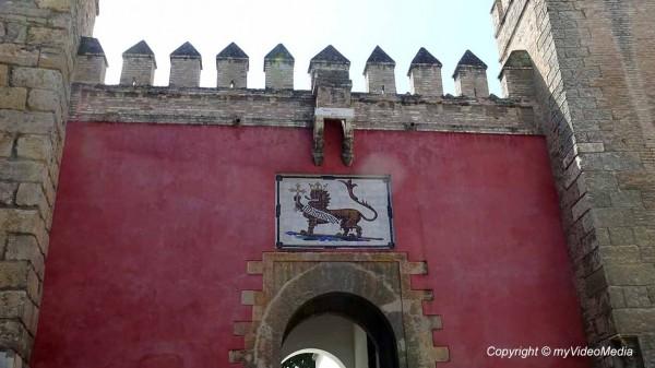 Alcazar de Seville Lion Gate