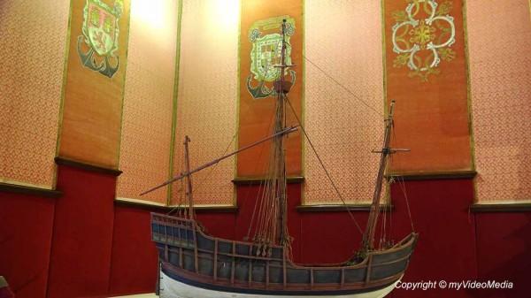 Zimmer des Admirals