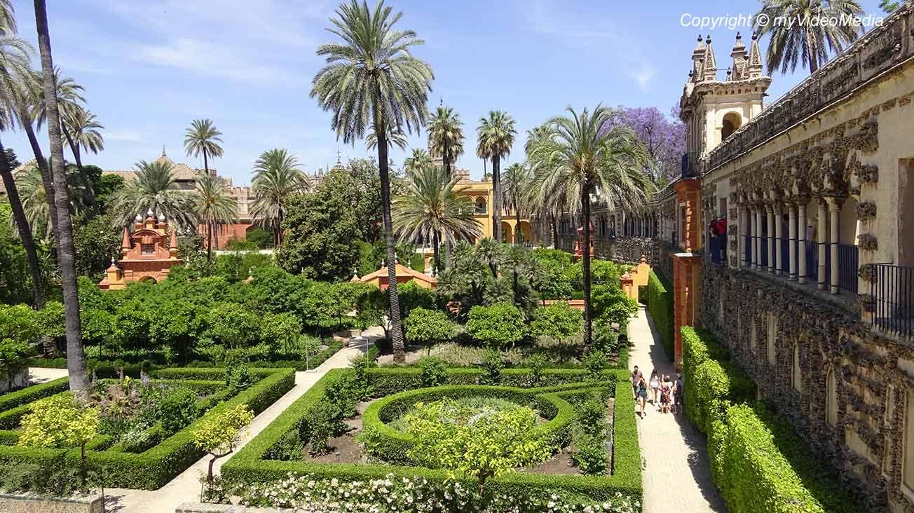 Alcazar von Sevilla