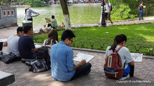Touristische Zentrum Hanoi 20151112_112528