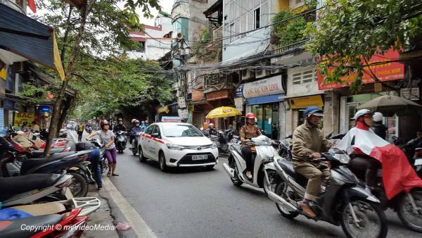 Touristische Zentrum Hanoi