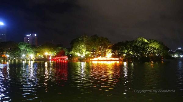 Hoan-Kiem-See (Schwert See) Hanoi