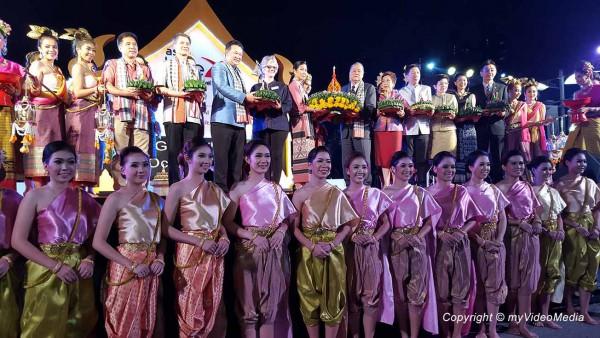 Loi Krathong TBEX opening