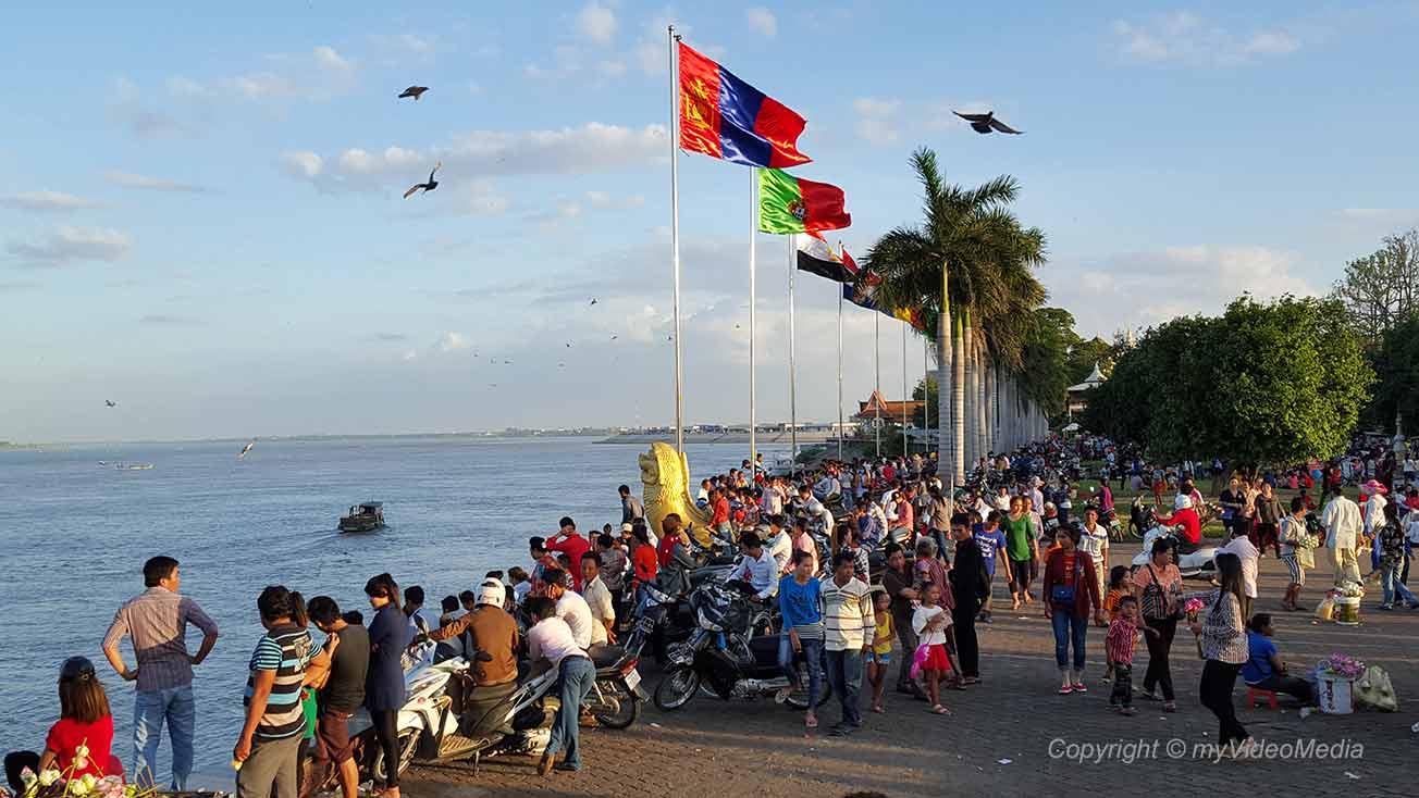 Phnom Penh Wasserfestival