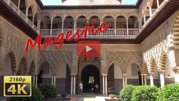 Video Alcazar of Seville