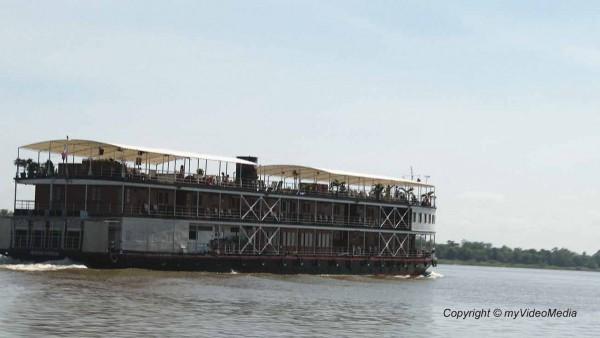 Kreuzfahrtschiff Mekong