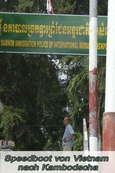 Speedboot Vietnam Kambodscha