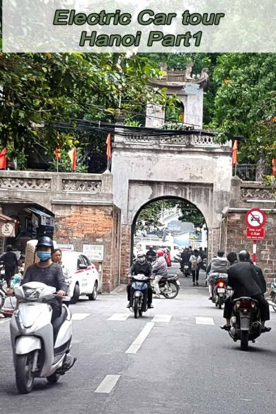 Electric Car tour Hanoi Part1