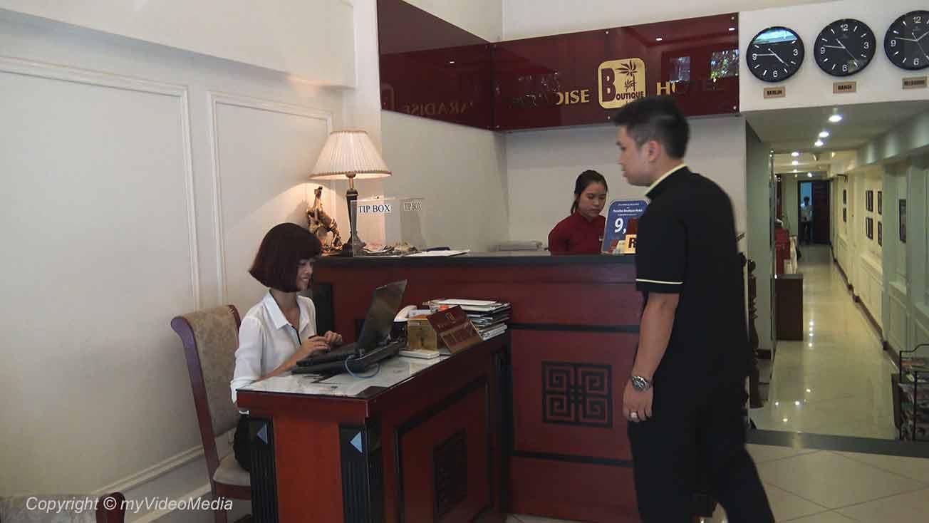 Hanoi Paradise Boutique Hotel lobby 22-c
