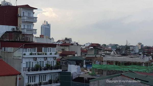 Hanoi rooftops