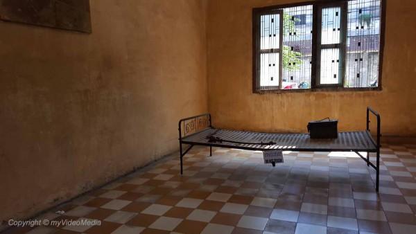 S-21 Phnom Penh prison cell