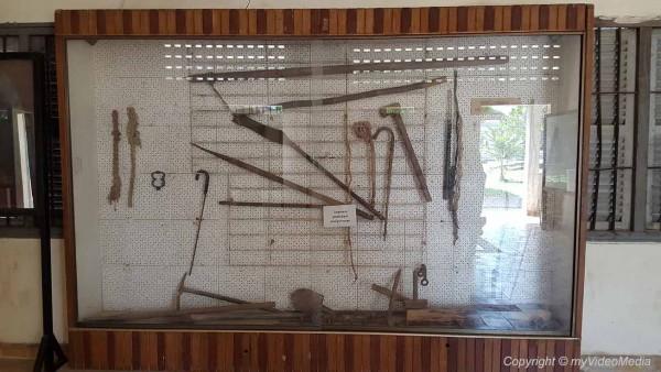 S-21 Museum Folterwerkzeuge