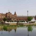 Plaza de España in Seville – Spain