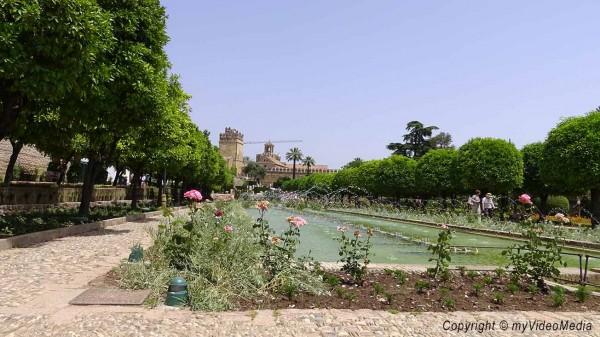 Garten Alcazar Cordoba
