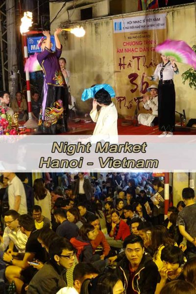 Night Market in Hanoi