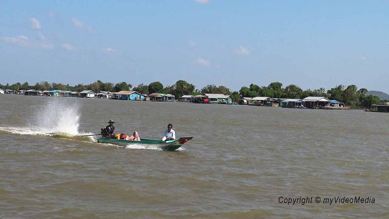 Floating city Cambodia