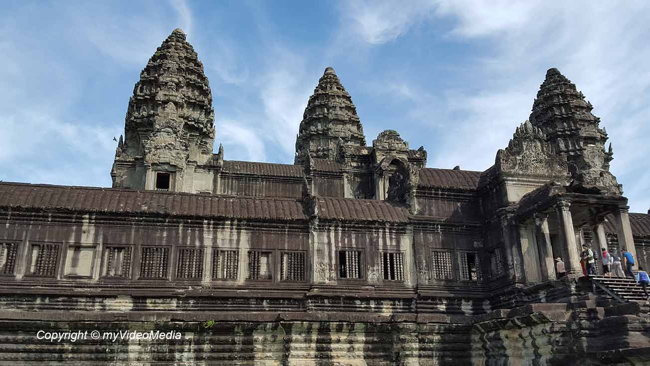 Eingang Angkor Wat