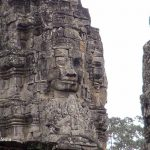 Angkor Thom and the temple with the 200 faces