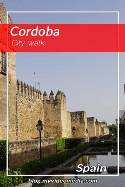 City walk in Cordoba