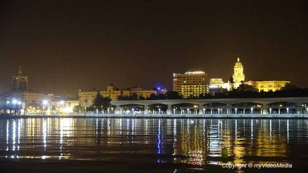 Evening in Malaga