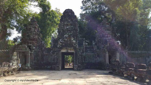 West gate Preah Khan