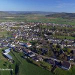 Birds Eye View of Altrich in Spring – Germany
