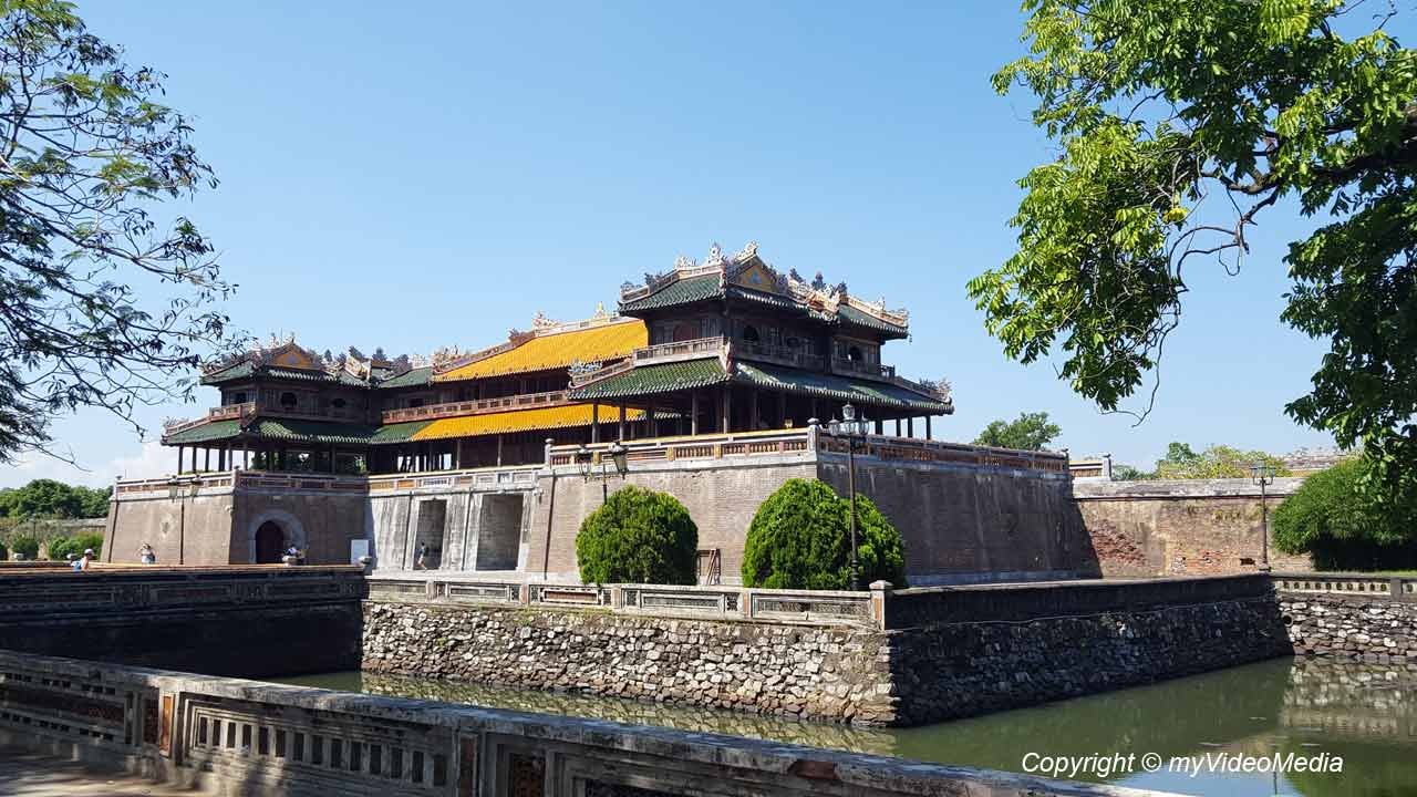 The Citadel And The Forbidden Purple City In Hue Vietnam