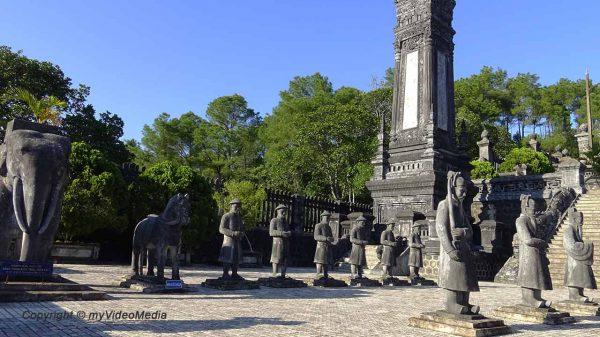 Tomb Emperor Kai Dinh
