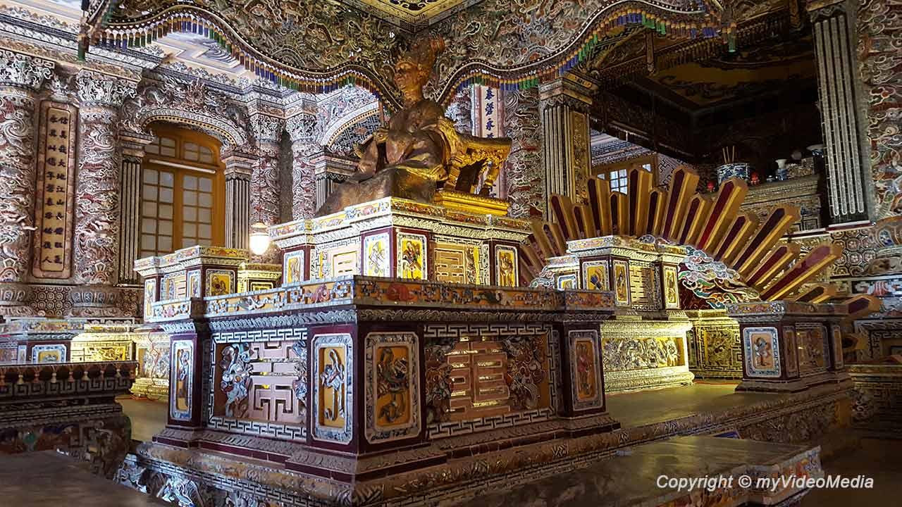 Grabmal des Kaisers Khai Dinh