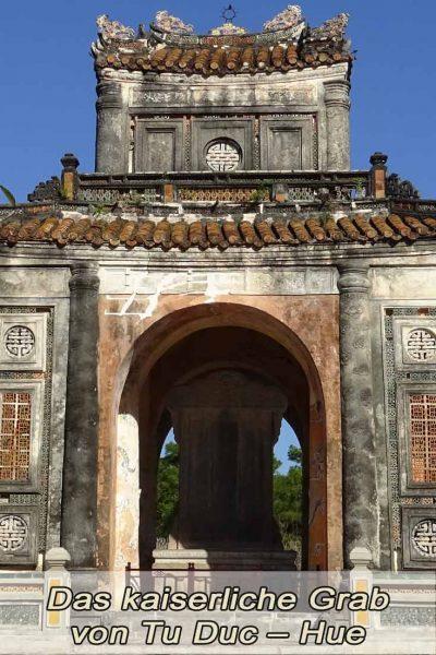 kaiserliche Grab Tu Duc in Hue