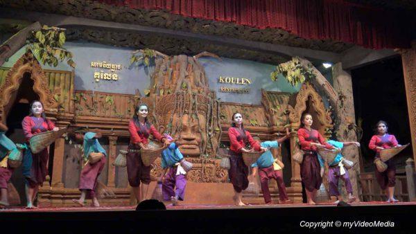 traditioneller Khmer Tanz