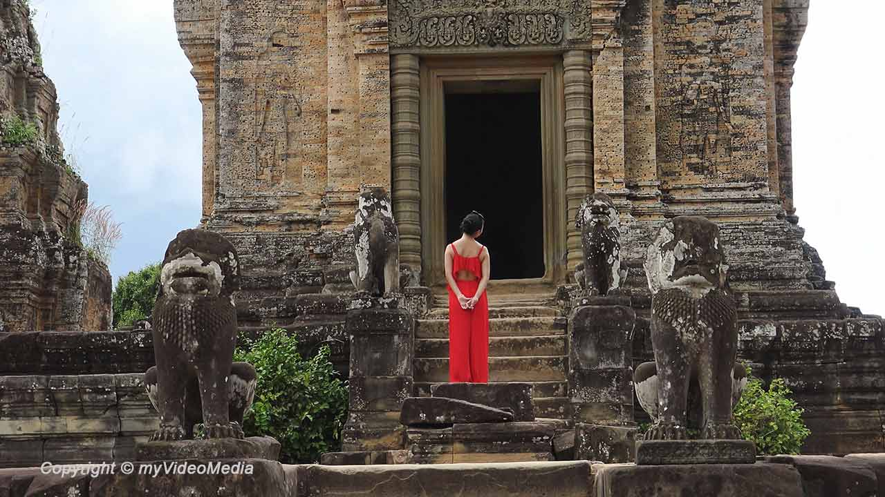Angkor temples and photo shooting
