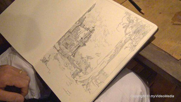 Skizze Guillaume Bonamy