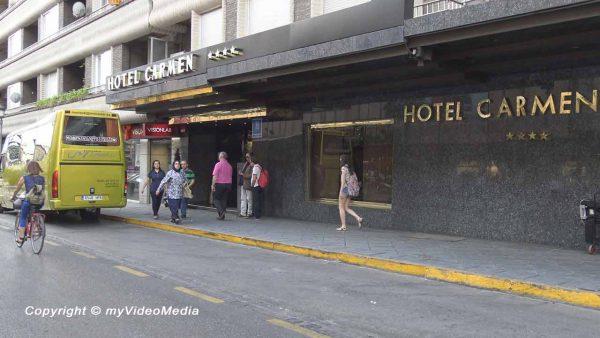 Hotel Carmen in Granada